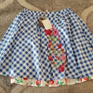 Matilda Jane Dutch Apple Skirt Adult Small